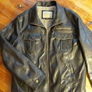 Vegan leather jacket! Size M